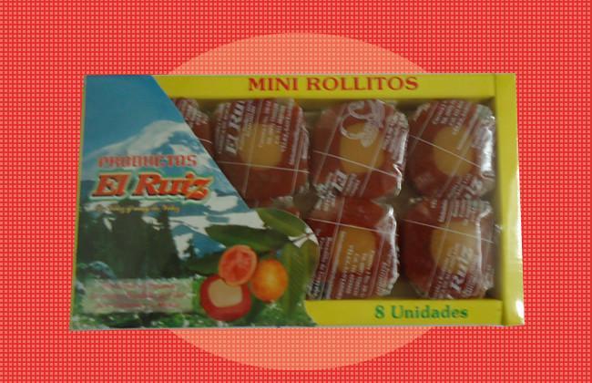 Mini rollitos x 8 unds