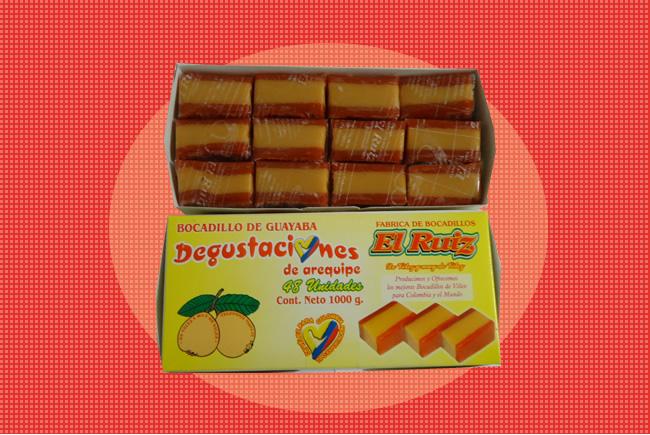 Degustaciones de arequipe x 48 unds